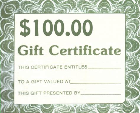 generic certificate templates search results for blank generic gift certificate