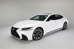 this is the 2018 lexus ls 500 f sport the drive