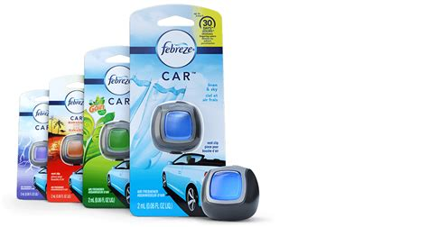 Car Freshener Types by Car Air Freshener For Odor Elimination Febreze Car