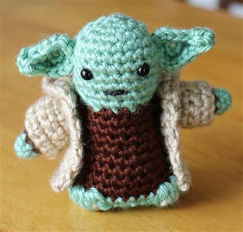 amigurumi ewok pattern free star wars amigurumi yoda with cloak doll crochet by