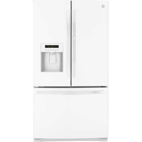 Kenmore Door Bottom Freezer by Kenmore 23 9 Cu Ft Door Bottom Freezer