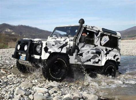 camo range rover defender 90 camo land rover defender pinterest