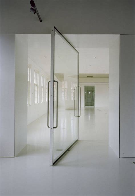 Glass Door Pivot Museum In Veenhuizen By Atelier Kempe Thill