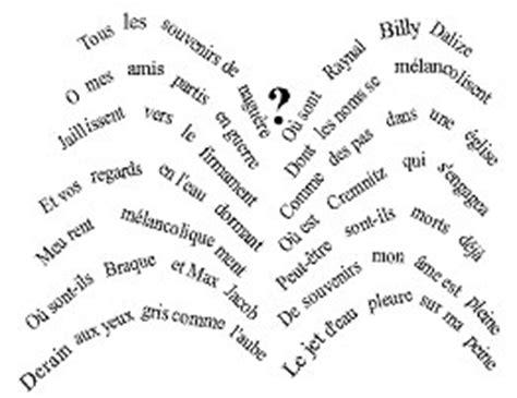 poesie futuriste testi calligrammi di apollinaire su note a soqquadro