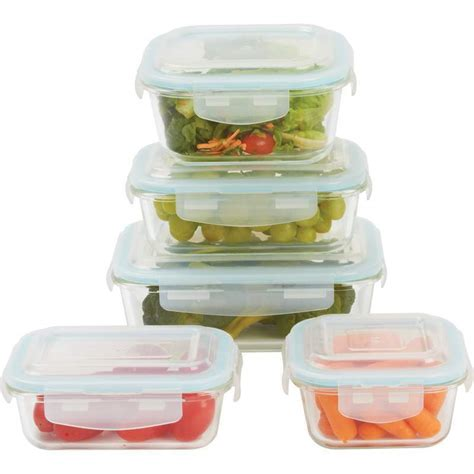 kitchen storage containers for sale glass storage container set locking lacuisin 10piece