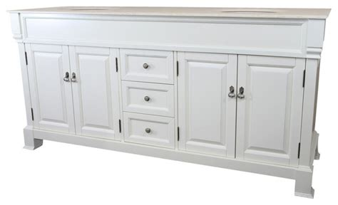 72 Inch White Vanity by 72 Inch Sink Vanity Wood White Traditional