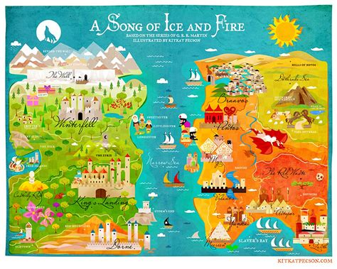 the official of thrones coloring book of thrones westeros and essos children s maps