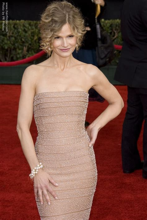 Kyra Sedgwick wearing her hair up