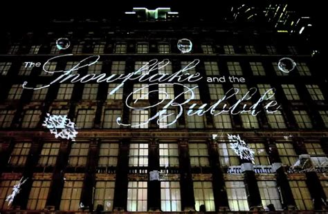 saks fifth avenue light show saks fifth avenue 3d holiday light projection videos