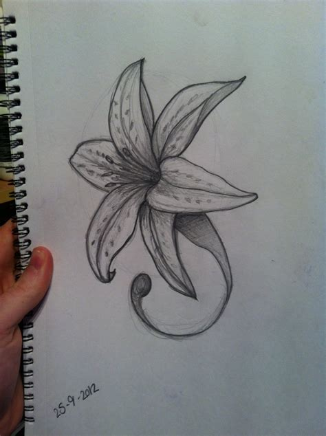 music and flower tattoo designs 35 flower design sles and ideas