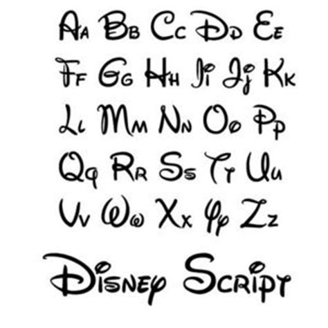 tattoo font disney disney cursive font pictures to pin on pinterest pinsdaddy