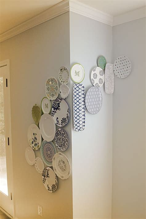 hanging craft projects best 25 plate display ideas on plate wall