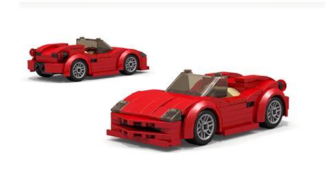Lego Ferrari by Lego Ferrari Spider Instructions Youtube