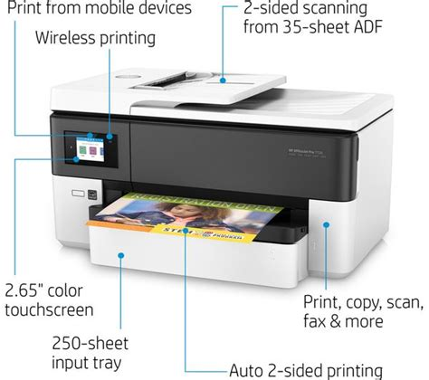 Printer Hp Ukuran A3 buy hp officejet pro 7720 all in one wireless a3 inkjet