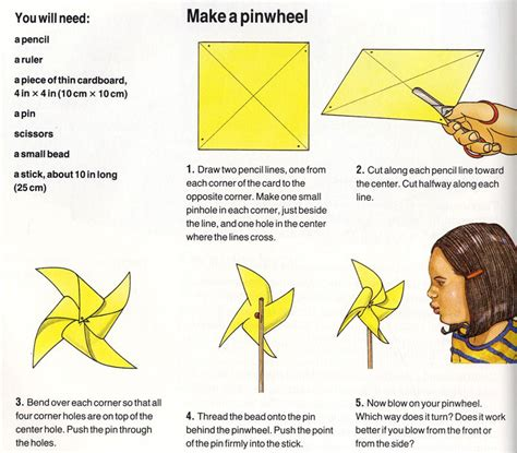 how to make a pinwheel projects for ency123
