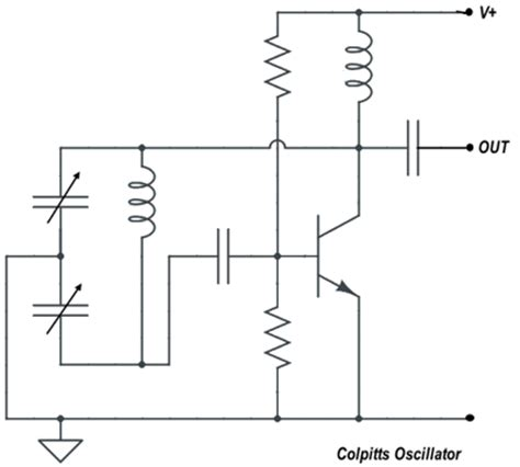 colpitts oscillator capacitor types colpitts oscillator capacitor types 28 images make an oscillator 50 300 mhz colpitts type