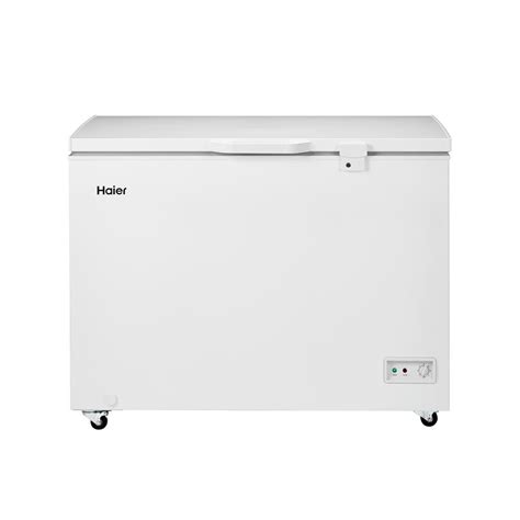 haier 9 2 cu ft chest freezer in white hfc9204acw the