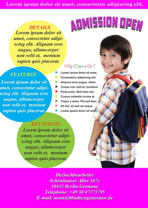 school flyers templates free best free school flyer templates to light up your academic