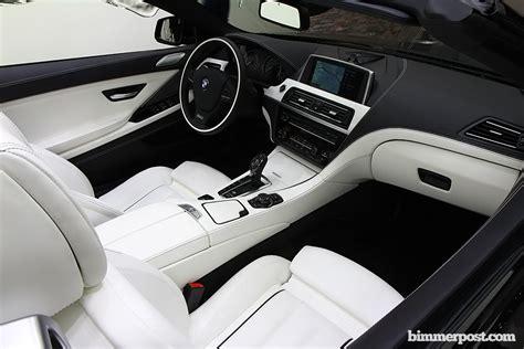 White Bmw With Interior For Sale by صور جديده للـbmw الفئه السادسه باربع ابواب مع كت ام باور