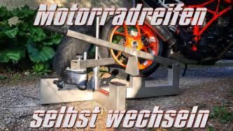 Youtube Motorradreifen Wechseln by Motorradreifen Selbst Wechseln Mit Reifenmontierger 228 T F 252 R