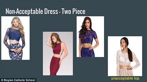 Promo Dress Shakira Uk 2 3 Th Dress Yukensi Dress Murah Dress Balita prom dress guidelines lead to shaming accusation daily mail