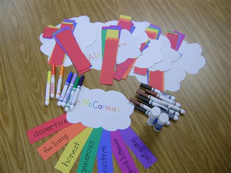 elementary crafts elementary counseling rainbow of friendship