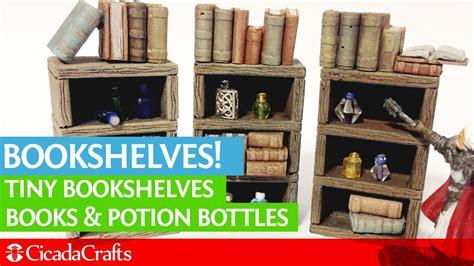 tabletop bookshelves terrain accessories bookshelves bottles and books