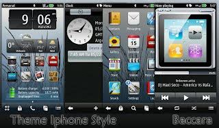 iphone themes symbian download iphone style theme for symbian belle nokiahacks
