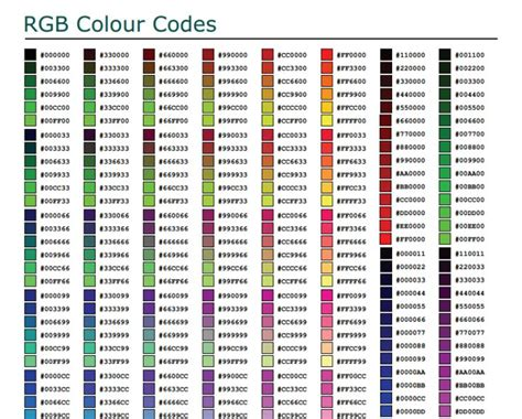 best color hex codes 25 best ideas about rgb color codes on rgb