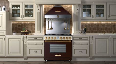 italian kitchen appliances tecnogas art deco ranges for luxe homes reviewed com ovens