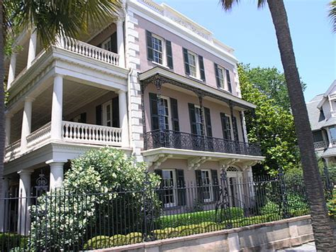 Edmondston Alston House by Historic Homes Of Charleston Edmondston Alston House