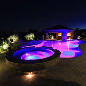 in ground pool lighting options best 25 inground pool lights ideas on