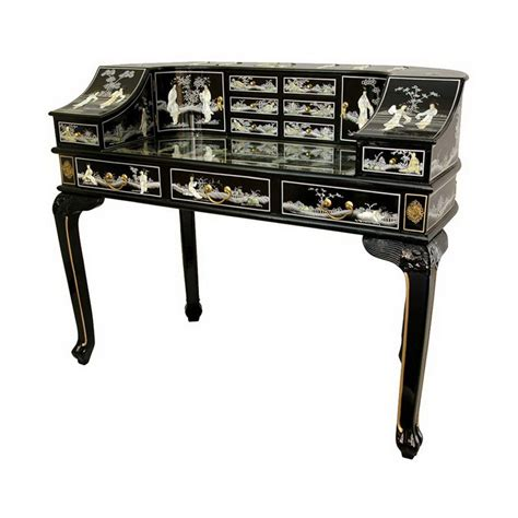 shop furniture lacquer black lacquer writing desk