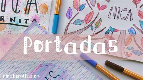 ideas para decorar libretas bonitas portadas para decorar cuadernos libretas y agendas