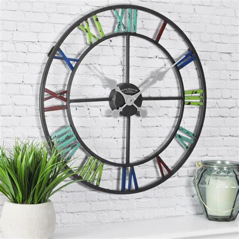 firstime artisan outdoor clock 99671 the home depot