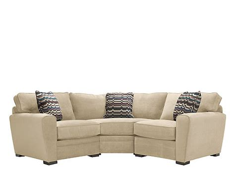 artemis ii sectional artemis ii 3 pc microfiber sectional sofa gypsy stone