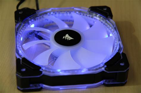 corsair hd120 rgb 54 4 cfm 120mm fan fan corsair hd120 rgb led pack 3 fan
