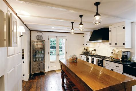 nantucket kitchen bungalow blue interiors home