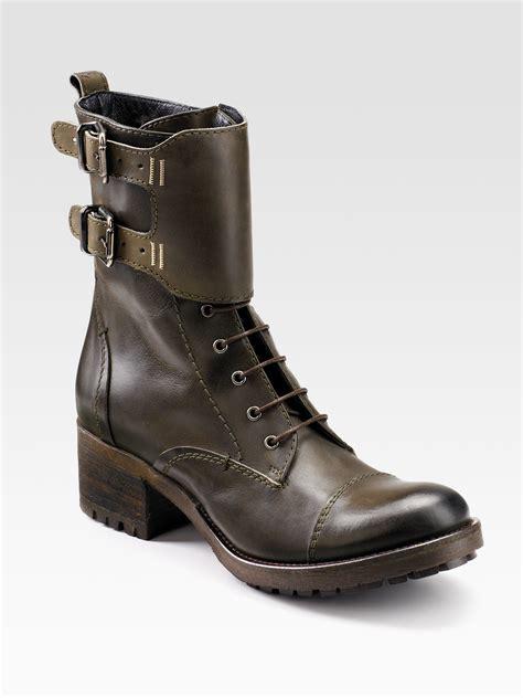 lug boots alberto fermani laceup lug sole boots in green