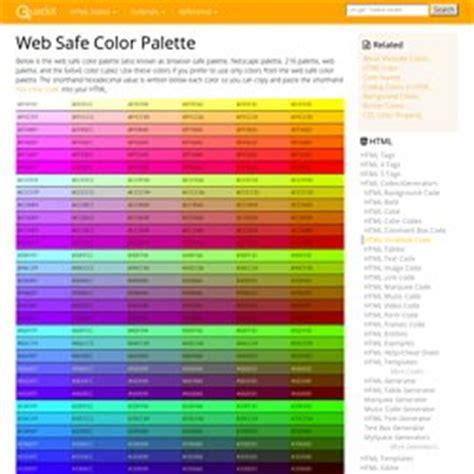 web safe colors technology i found this pearltrees