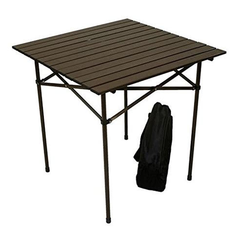 table in a bag table in a bag aluminum portable table with carrying