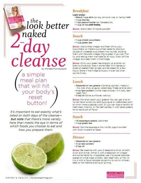 Healthy Diet Detox Cleanse by S Health Cleanse Thinspiration Diets