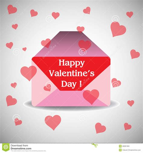 valentines day envelope royalty free stock images image