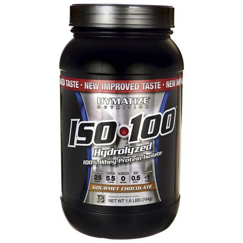 Whey Protein Hydrolyzed dymatize nutrition iso 100 hydrolyzed whey protein isolate gourmet chocolate 1 6 lbs pwdr