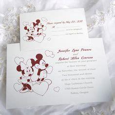 150 personalized custom mickey and minnie disney wedding invitations set ebay my style