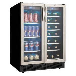 home depot beverage center danby silhouette 27 bottle built in wine cooler and 60 can
