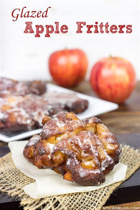 glazed apple fritters recipe apple recipes dessert