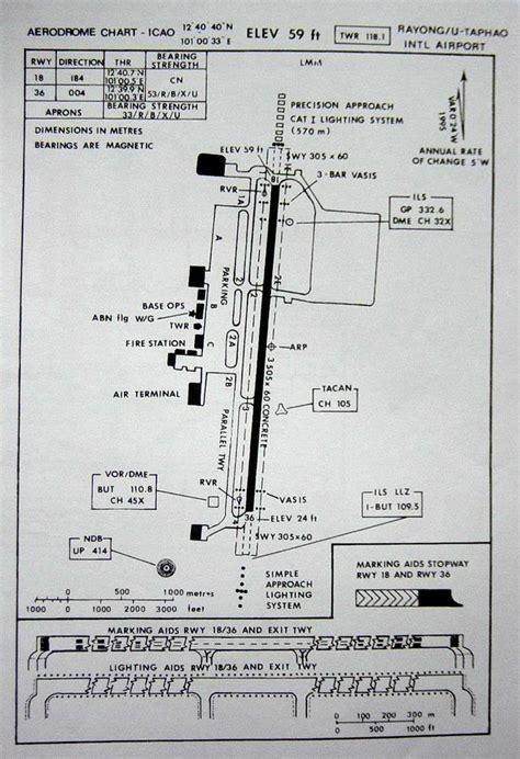 ta airport map u taphao airport