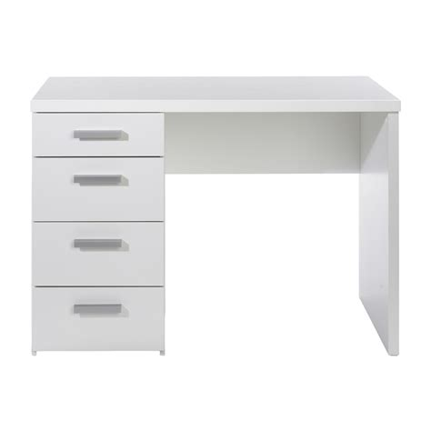 white office desk with drawers white desk with drawers white wooden desk with drawers and