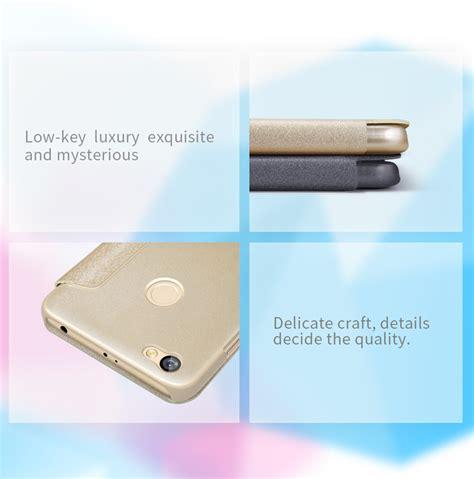 Casing Xiaomi Redmi 3 Panic At The Disco Custom nillkin sparkle pu lederen etui venster smart sleep flip